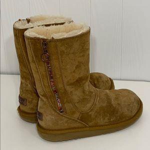 UGG | Rainbow Zipper Short Boots 5654